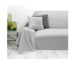 tagesdecke plaid berwurf vaganza sofa berwurf grau 210x280cm k che haushalt. Black Bedroom Furniture Sets. Home Design Ideas