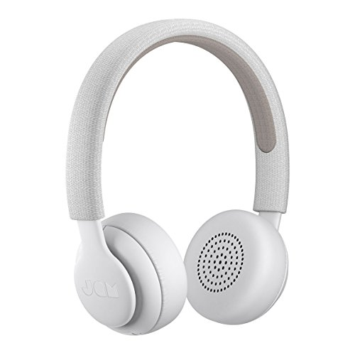 Jam Been There On-Ear Bluetooth Headphones, 40mm Drivers, 14 Hour Playtime, 10 Metre Range, Hands Free Calling, IPX4 Sweat and Rain Resistant, Light Weight, Natural Open Sound - Grey Best Price and Cheapest