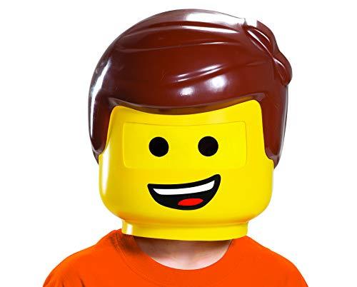 (LEGO Ninjago Movie 26725-15L Lego Movie 2 Emmet Maske, gelb, One Size)
