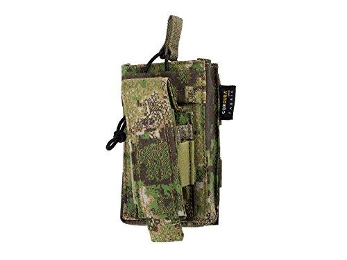 BE-X Kombi-Magazintasche für CQB MOLLE für je 1 G36 und Pistolen Magazin - PenCott Greenzone