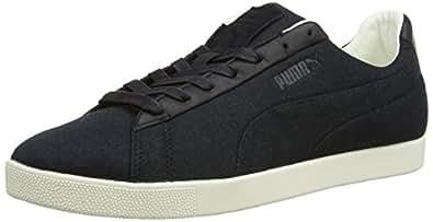 Puma Modern Court Lo Canvas - Chaussures de Basket-Ball Pour Homme - Noir - Noir - EU 46 (UK 11)