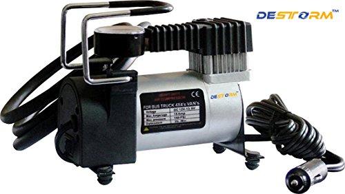Autofurnish Destorm Tyre Inflator Air Compressor Pump (12V)