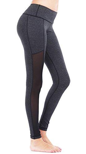 DeepTwist Mujer Malla Insertada Pantalones Yoga Deportes
