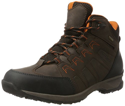 camel active Hunter GTX 13, Bottes de Neige Homme Marron (Mocca/black)