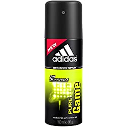 Adidas Pure Game Deodorant Body Spray for Men, 150ml