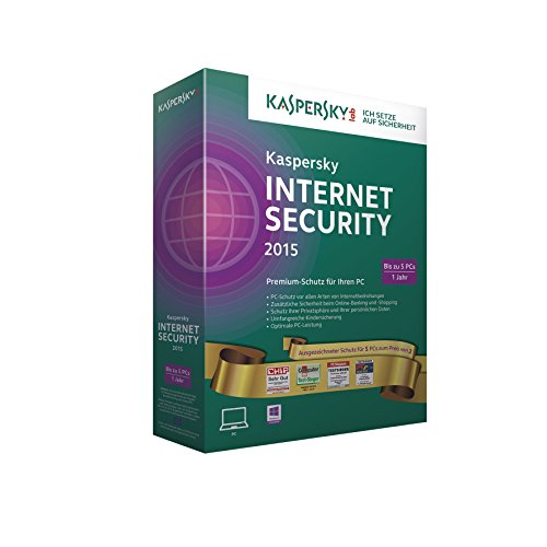 Kaspersky Internet Security 2015 - Gold Edition -  5 PCs (Information-security-programm)