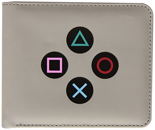 numskull Playstation 1 Geldbörse - im PS1 Controller Design - grau (Portemonnaie) (Psn Gift Card Ps4)