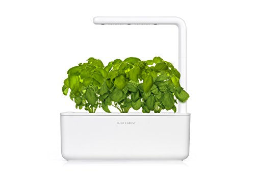 Click & Grow Smart 3 Intelligente Garden 3, Bianco, 30x28x10 cm