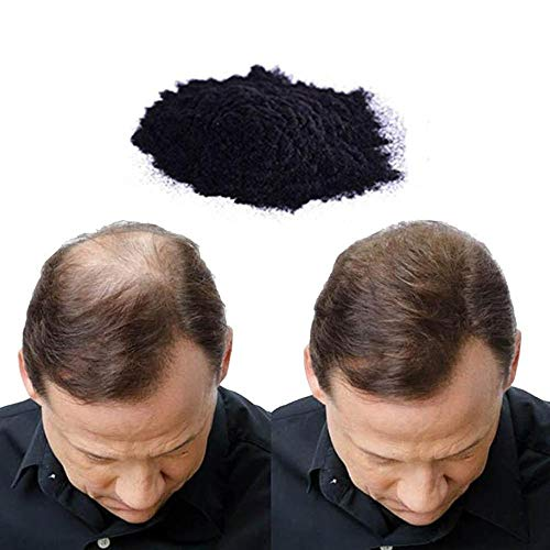 Cheveux de construction Fibres naturelles perte de cheveux Anti-cernes Naturel les poils Croissance Compléments Conditioners Fibre capillaire pour homme et femme – 25 G