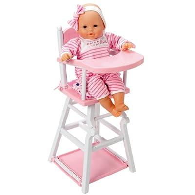 Corolle X0506 - Silla de bebé para muñeca de 30 a 42 cm, color rosa de COROLLE