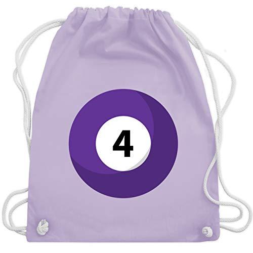 - Billardkugel 4 Kostüm - Unisize - Pastell Lila - WM110 - Turnbeutel & Gym Bag ()