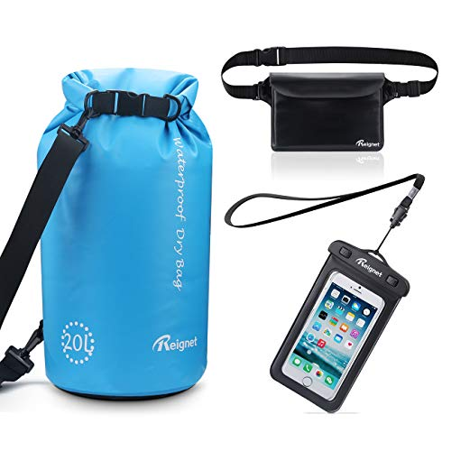 Reignet Dry Borsa Impermeabile Kit 3 in 1-20L Dry Bag...