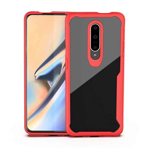 MILASIA One Plus 7 Etui Pour téléphone Mobile Oneplus 7pro Coque Pour téléphone Mobile Coque transparente Anti-goutte 1 + 7pro Set Oneplus6T -
