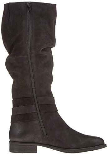 SPM Damen USA High Boot Reitstiefel Schwarz (Black)