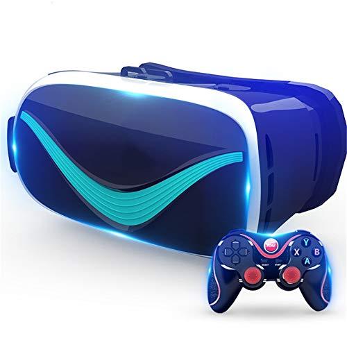 TLgf VR-Brille 3D Virtuelle Realität Smart Helm Headset Brillenbrille Headset, Kino-Spiel eine...