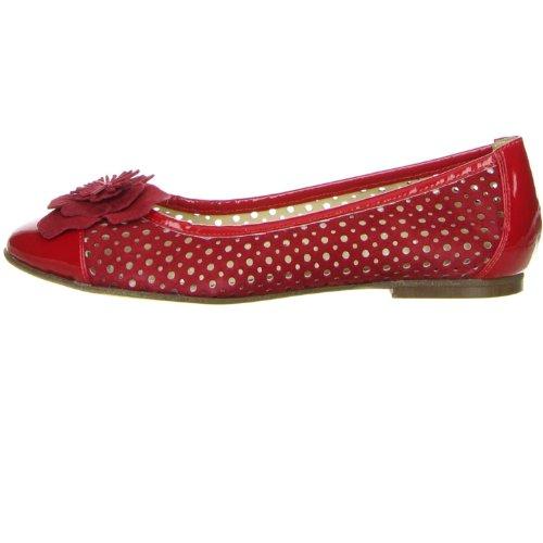 Vista Damen Ballerinas rot Rot