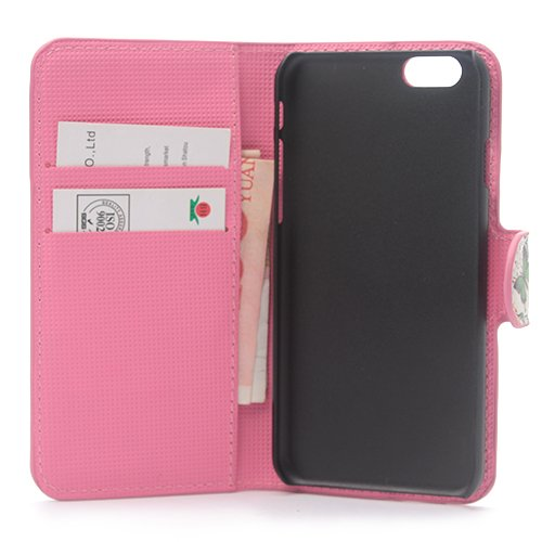 iPhone 6/6S Plus Coque,COOLKE Flip Coque Fashion Painted Pattern Cover de Etui Housse de Protection Étui à rabat Case pour Apple iPhone 6/6S Plus (5.5 inches) - 009 004