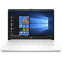 "HP 14-cf0005ns - Ordenador portátil de 14"" HD (Intel Celeron N4000, 4GB RAM, 1TB HDD, Intel Graphics, Windows 10) color blanco - teclado QWERTY Español"