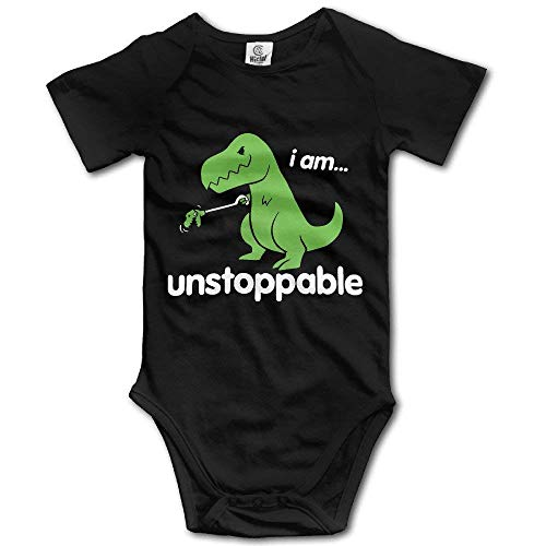 Funny Bag Dinosaur Unstoppable Cute Baby Onesie Bodysuit Outfits