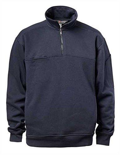 5.11Herren Utility Fleece Job Shirt, herren, Fire Navy, X-Large (Halsband-athletic-shirt)