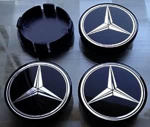 Mercedes Nabenkappen Nabendeckel Felgendeckel 75 72mm Auto