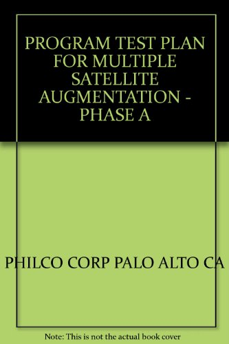 PROGRAM TEST PLAN FOR MULTIPLE SATELLITE AUGMENTATION - PHASE A