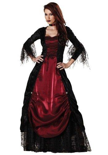 Gorgeous Neue luxuriöse schwarzen Kleid Halloween-Kostüme für Halloween- Vampir (Vampir Kaninchen Kostüm)