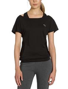 Puma 508618 01 TP Trend T-shirt de sport femme Noir Taille XS