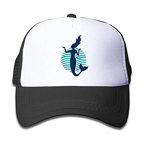 Hipiyoled Funnny Dancer Mermaid Boys Girls Hüte Snapback Mesh Cap Adjustable Baseball Caps Kid's Trucker Hat Pink 5Z955 Dc Wool Cap