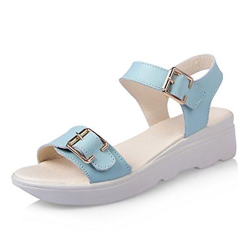 Sandales d'été femmes/Version coréenne wedges plateforme sandales/anti-dérapant Sandales avec les élèves de/Loisirs avec flat Sandals B