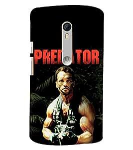 Blue Throat Predator Printed Designer Back Cover/ Case For Moto X Style