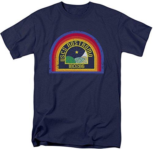 Alien - Herren Nostromo T-Shirt, X-Large, Navy