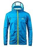 Men's Windbreaker Cycling Jersey Bicycle Lightweight Jacket Windproof Jacket Rain Coat Ultra Light