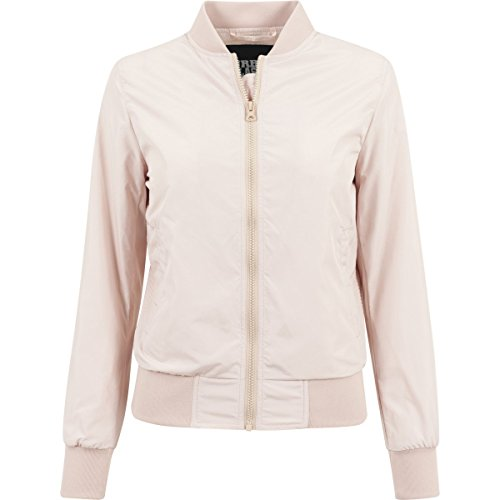 Urban Classics Ladies Light Bomber Jacket-Giacca Donna    Light Pink XS