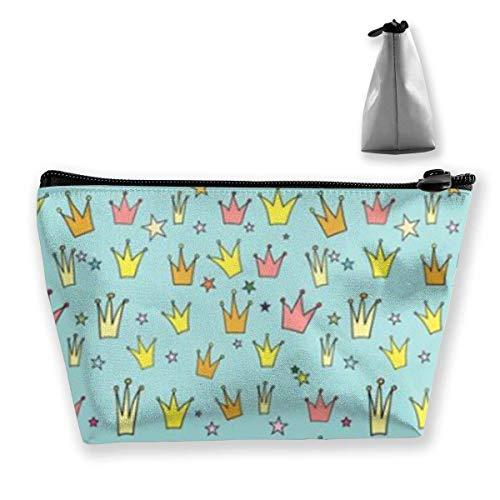 Crown Princess Kosmetiktasche/Tasche/Clutch Travel Case Organizer Aufbewahrungstasche für Frauen