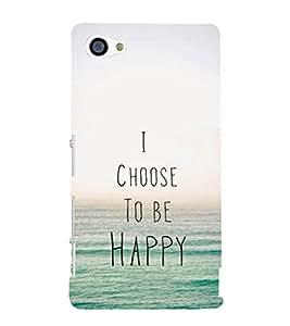 EPICCASE Happy Mobile Back Case Cover For Sony Xperia Z5 Mini / Z5 Compact (Designer Case)