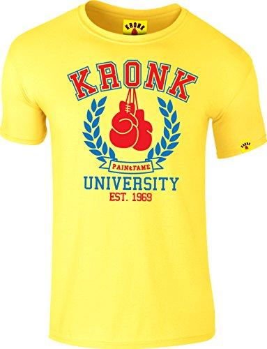 Kronk Herren T-Shirt Gelb