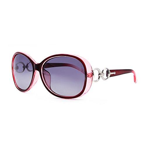 VeBrellen Luxus Transparent Deman polarisierten Sonnenbrillen Frauen Kunststoff Schutzbrillen Brillen