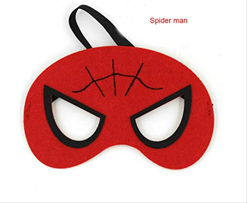 Wbdd Superhelden Maske Cosplay Superman Batman Spiderman Hulk Thor Ironman Prinzessin Halloween Weihnachten Kinder Erwachsene Party Kostüme Masken Spider-Mann