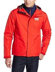 Helly Hansen Seven J  - Chaqueta  para hombre, color rojo, talla S