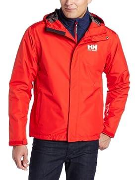Helly Hansen Seven J–Chaqueta para hombre, hombre, color Alert Red, tamaño large