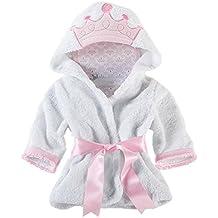 Minuya Albornoces Bebe, Bata de Baño Bebe Forma Animal Linda/Albornoz Suave de Algodón
