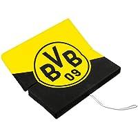 Borussia Dortmund BVB 12820700 Klappsitzkissen Schwarz/gelb 33 x 33 x 3 cm