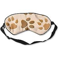 Eye Mask Eyeshade Dog Paw Footprint Sleeping Mask Blindfold Eyepatch Adjustable Head Strap preisvergleich bei billige-tabletten.eu