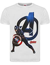 """Offizielles """"Marvel Avengers 2Age of Ultron""""-T-Shirt, """"Attack"""", mit Logo"""