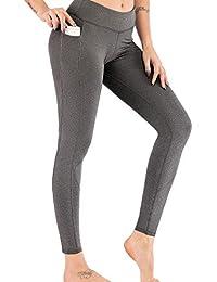 e517472af0f60 Vectry Pantalones Deportivos Mujer Pantalones Yoga Blancos Leggins Mujer  Negros Ropa Deportiva Chica Pantalones Elegantes Pantalones