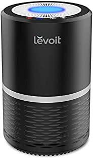 Levoit Air Purifier for Home with True HEPA Filter, Filter Change Reminder, LED Display Off Function, Portable