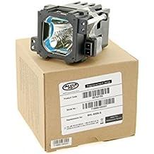 Alda PQ Reference, Bombilla sustituida BHL-5009-S para JVC DLA-HD1, DLA-HD100, DLA-HD1-BE, DLA-HD1-BU, DLA-HD1WE, DLA-RS1, DLA-RS1U, DLA-RS1X, DLA-RS2, DLA-RS2U, DLA-VS2000NL, DLA-VS2000U proyectores, lámpara con carcasa