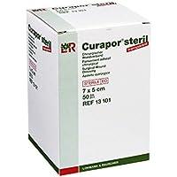 CURAPOR Wundverband transparent 7x5cm steril, 50 St preisvergleich bei billige-tabletten.eu