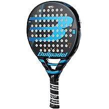 Bull padel BP 10 2018 Pala de pádel de Tenis, Hombre, Negro/Azul, 0.36